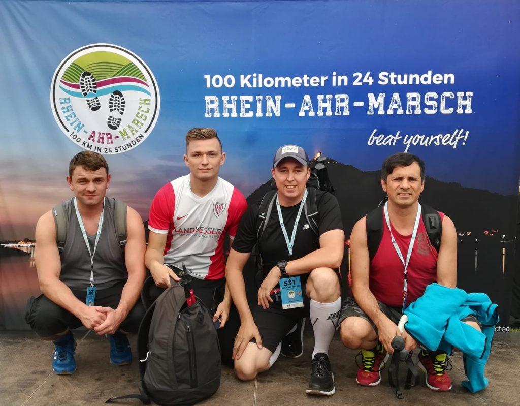 Teilnehmer Rhein-Ahr-Marsch